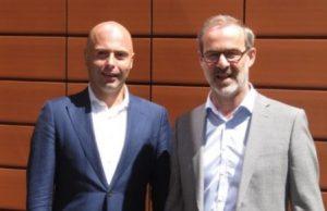 Eloi Burdorf directeur en Maarten Don HR-manager