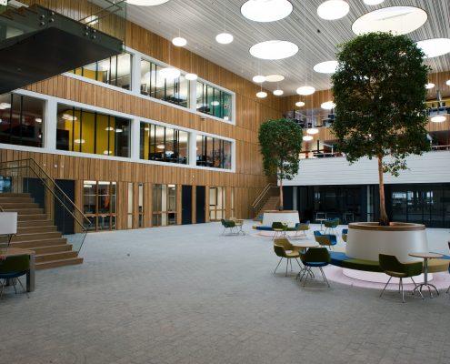 Thales - Office atrium