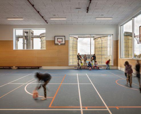 gymzaal Montessori Kind Centrum Zeeburgereiland